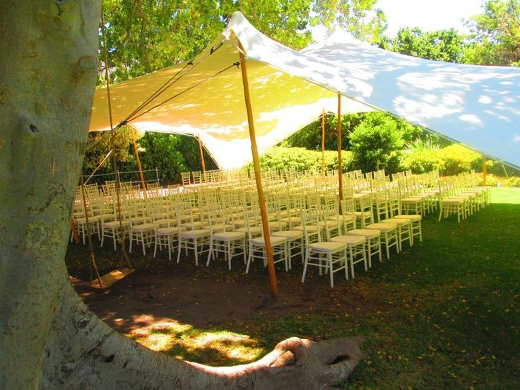 10m X 15m Stretch Tent Used For A Wedding Ceremony Approx