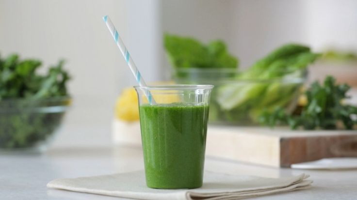 Eat clean: Green Machine Smoothie recipe video