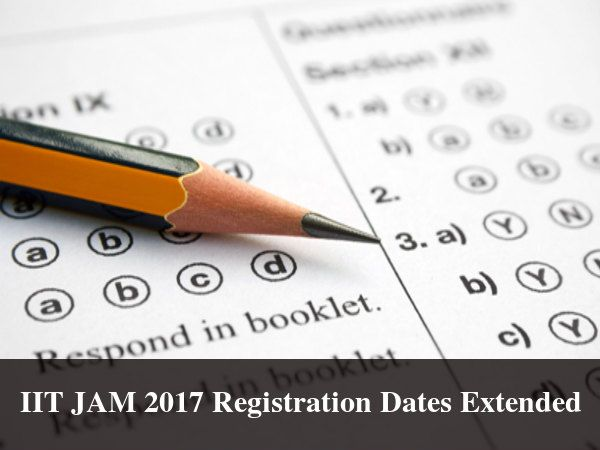 IIT JAM 2017 Registration Dates Extended    IIT JAM 2017 IIT JAM Mathematics  Read more from #Careerbilla <> http://www.careerbilla.com/news/news-details/iit-jam-2017-registration-dates-extended