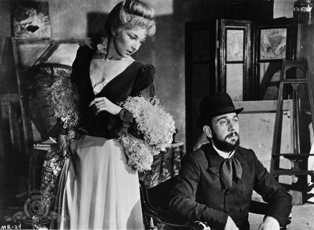 José Ferrer and Colette Marchand in Moulin Rouge