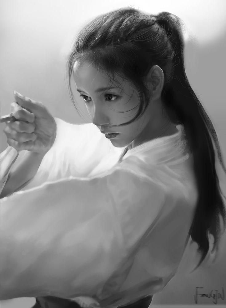 练习0.2~, 枫瑾 CC on ArtStation at https://www.artstation.com/artwork/E2YGK