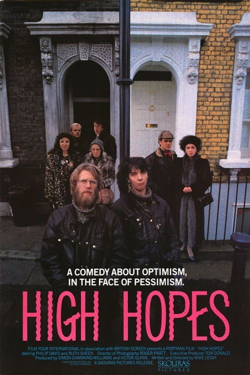 Directed by Mike Leigh.  With Ruth Sheen, Phil Davis, Edna Doré, Philip Jackson. The life of a working class couple living in London and their complicated relationships with other members of the family.