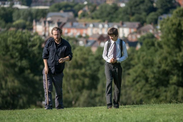 Rafe Spall and Asa Butterfield in A Brilliant Young Mind
