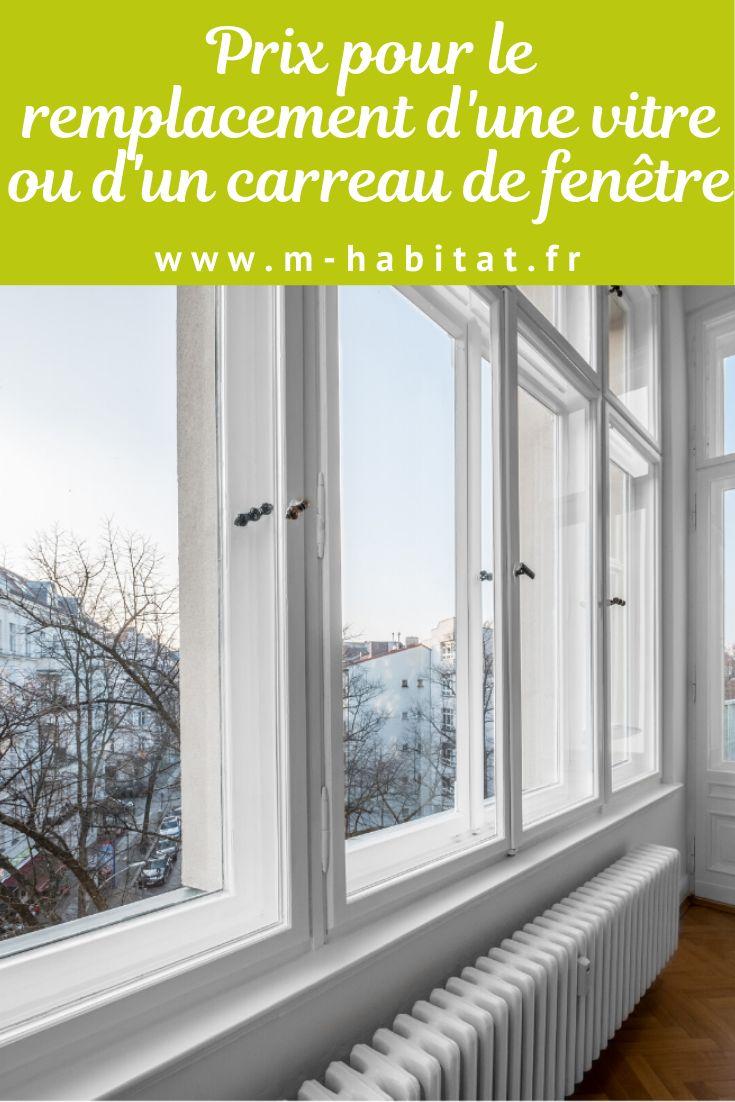 Fenetres Renovation Ou Remplacement prix pour le remplacement d'une vitre ou d'un carreau de