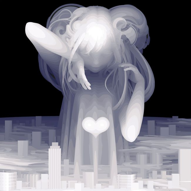 """There are so many things which I can't figure out. However, I truly love this world"" by Kazuki Takamatsu - 'Lush Life: Reverie' group exhibition @ Roq La Rue"