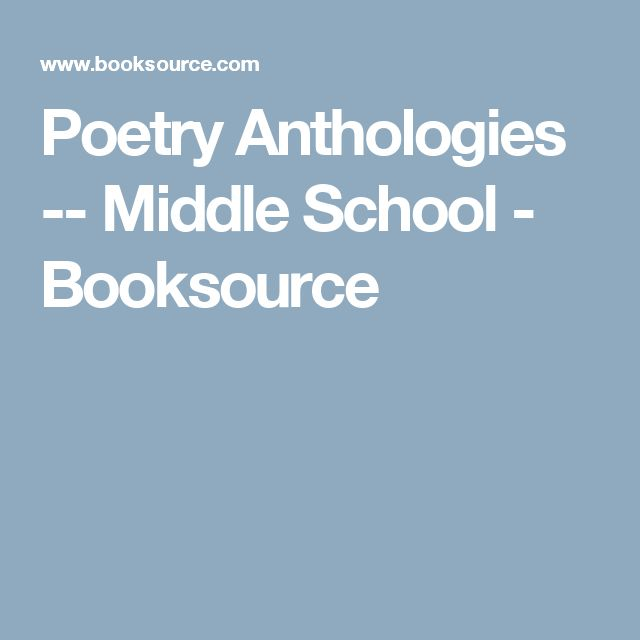 Anthologies: 1000+ Ideas About Poetry Anthology On Pinterest