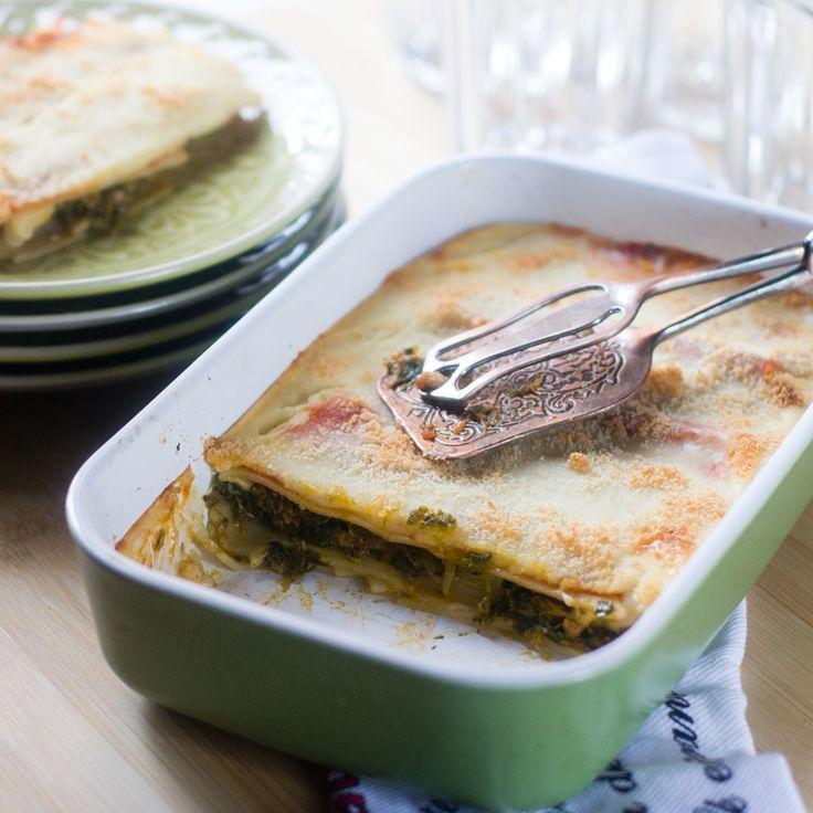 Cómo preparar lasaña de espinacas y atún con Thermomix