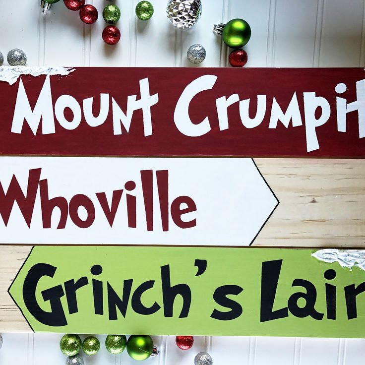 Grinch Christmas decoration! Whoville, Grinch's Lair and Mount Crumpit