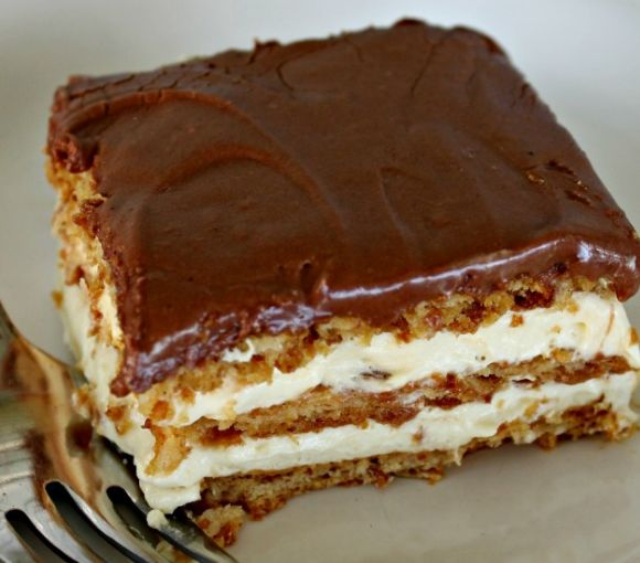 Easy dessert recipes - No Bake Eclair Dessert - Click Pic for 25 Thanksgiving Dessert Ideas