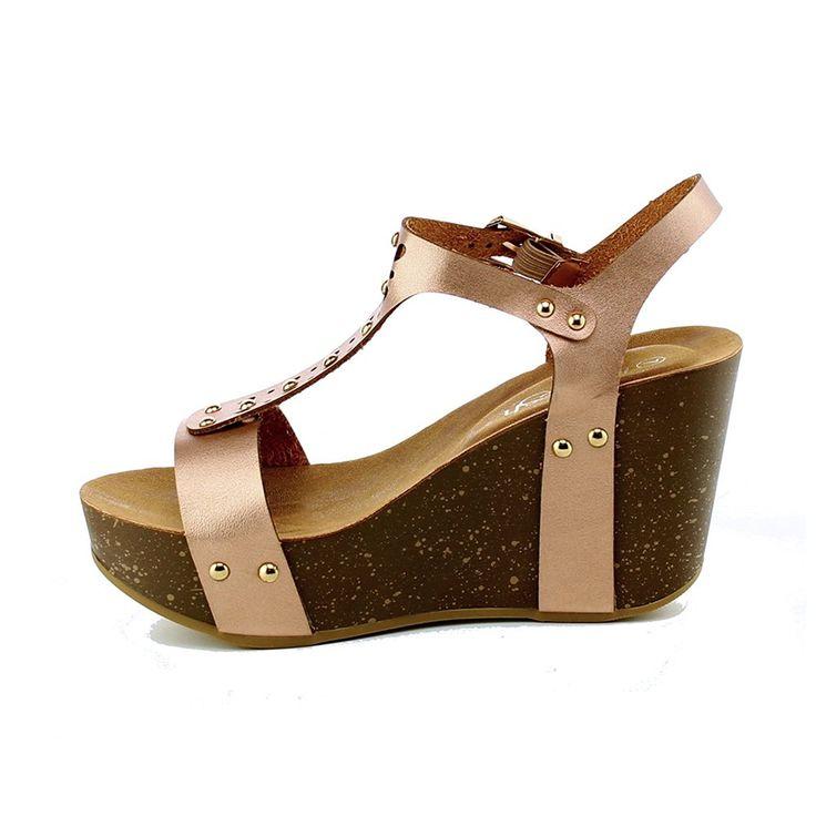 WestCoast Women's Open Toe Ankle Strap Wedge Platform Sandal Shoes ** Click  image for more details.