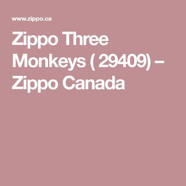 Zippo Three Monkeys ( 29409) – Zippo Canada