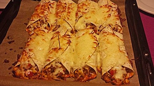 Mexikanische Burritos (Rezept mit Bild) von SallySauer | Chefkoch.de