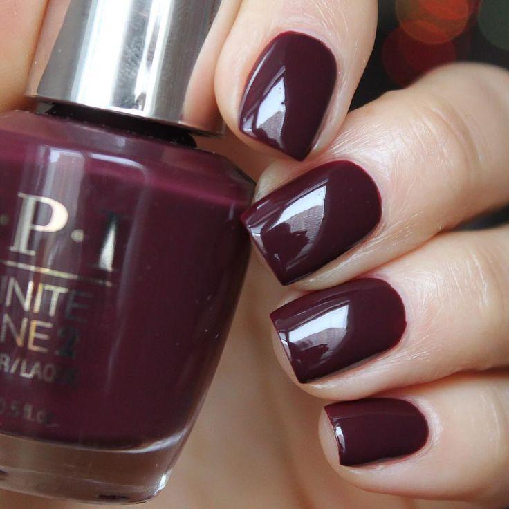 Opi infinite shine stick to your burgundies