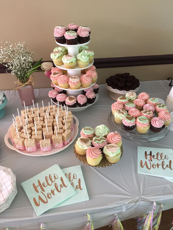 Cupcakes with Custom Toppers