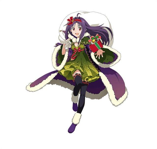 Sword Art Online Heroines Sparkle for Mobile Game Christmas Event - Interest - Anime News Network