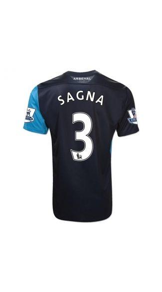 Cheap 11/12 Arsenal Bacary Sagna 3 Away football jersey,football jerseys cheap,football jersey shop,kids football kits At soccerworldmall