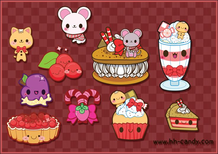 I want to eat all of these, but they're too cute!