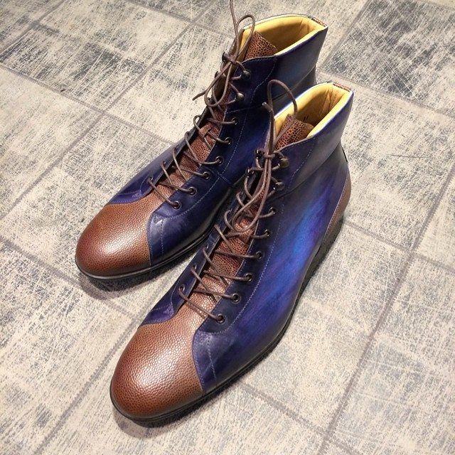 Patina : Eté indien - 8029 : 320€ #jmlegazel #sport #shoes #shoesmen #shoeshine #shoesaddict #souliers #chaussures #homme #men #menstyle #menswear #mensfashion #modehomme #polish #patina #patine #handmade #luxe #elegance #style #paris #dandy #custom