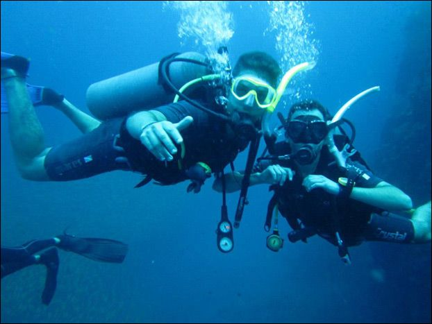 PADI Open Water Diving Course - become a certified diver