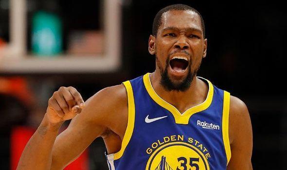 08bfe5dcc6de LeBron James  Warriors star Kevin Durant makes SHOCK Kawhi Leonard to Lakers  claim