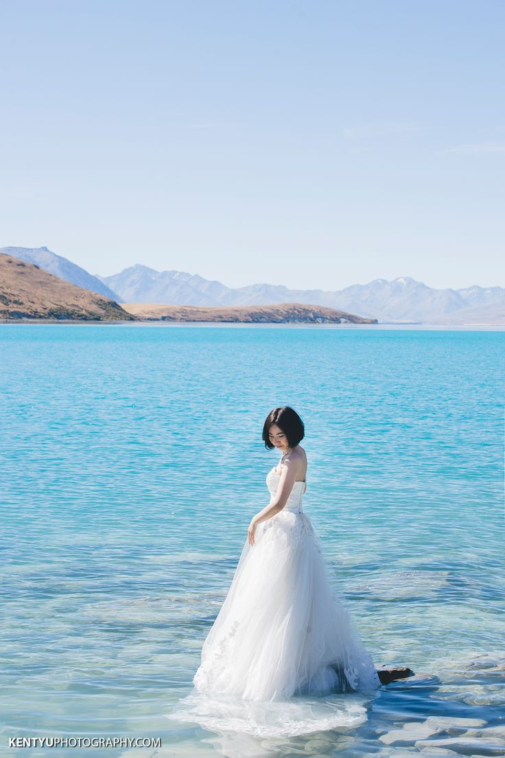 Love this!   Queenstown and Lake Tekapo Pre-wedding by Kent Yu Photography   www.OneThreeOneFour.com