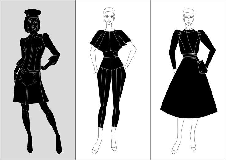 Collection development #macoat #dress #blackandwhite #silhouette #платье #черно-белое #силуэт #фигура #российскиедизайнеры