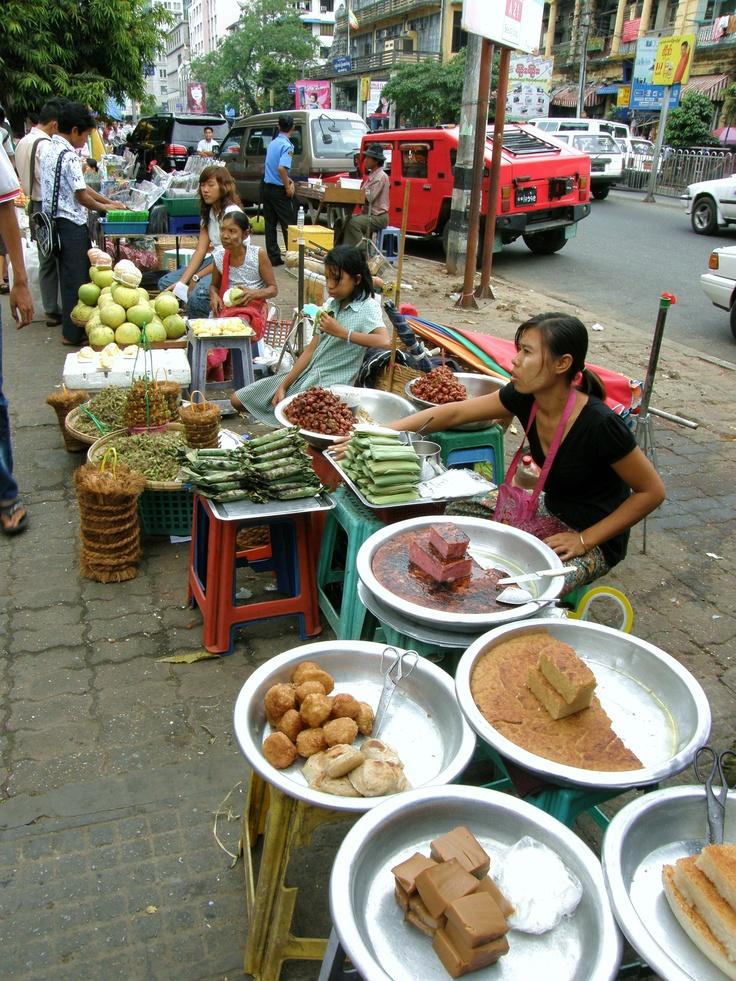 Yangoon - Myanmar - At the market