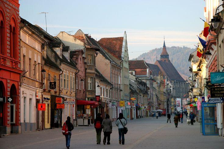 Brasov, Romania... Go skying in winter... Go walking in summer... don't go alone!
