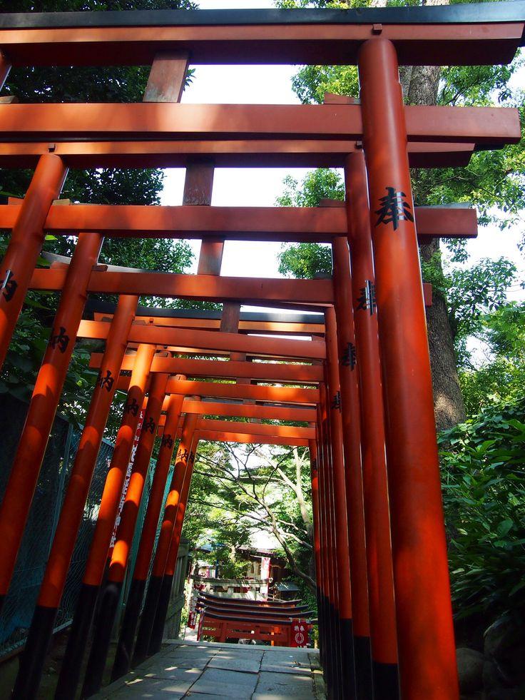Ueno 花園稲荷神社