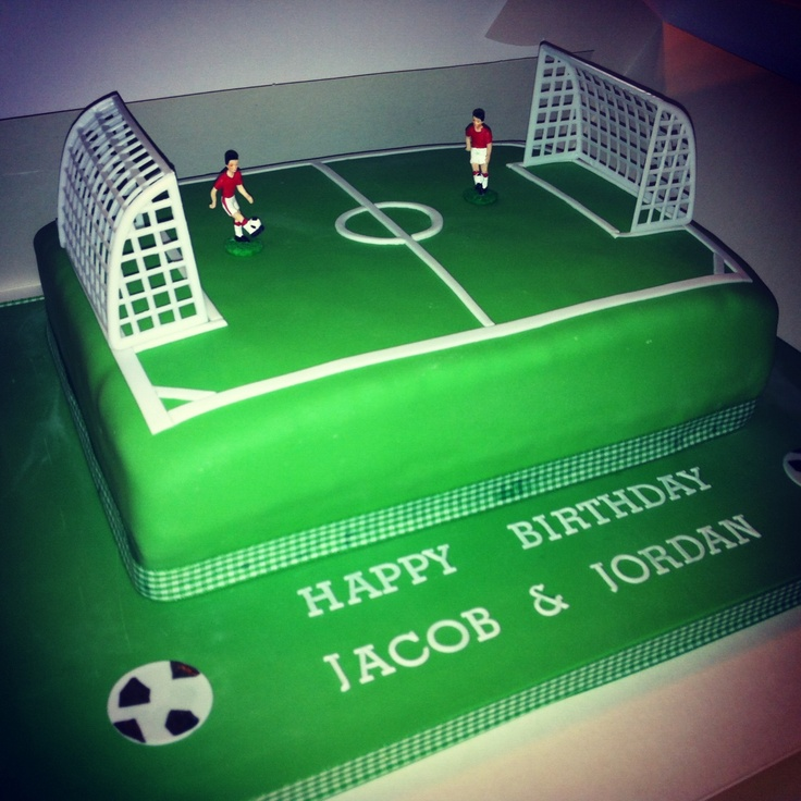Football / Soccer Pitch Cake
