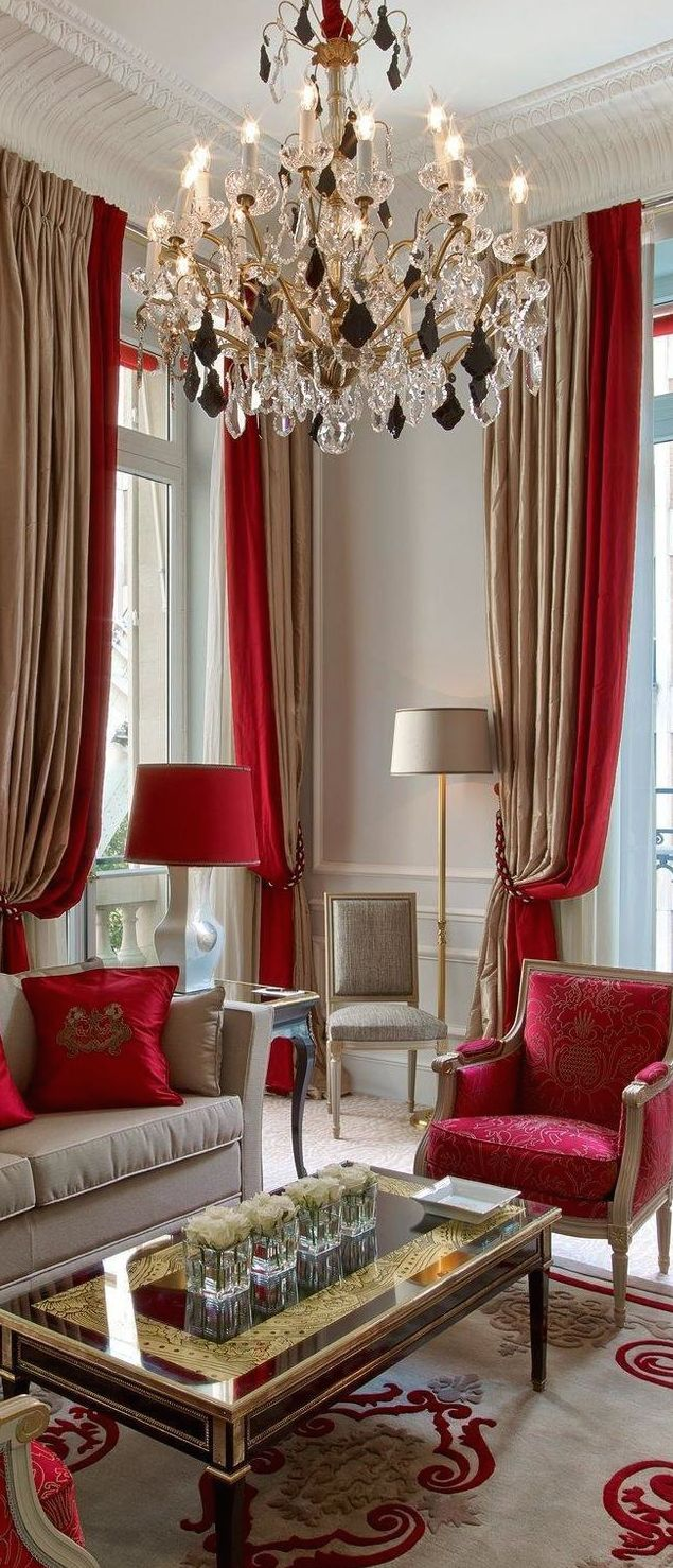 Discover The Best Luxury Living Room Inspiration For Your Next Interior  Design Project! Find More. Turquoise CurtainsRed ...