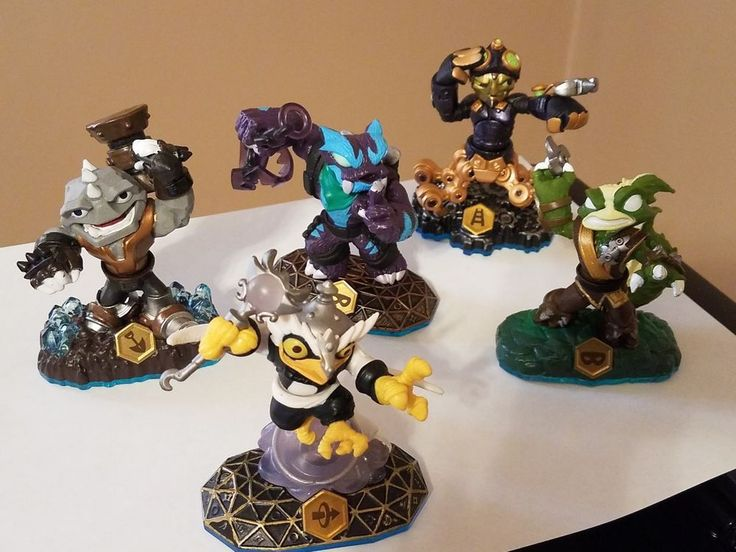 Skylanders Swap Force Trap Shadow Hoot Loop Stink Bomb Rubble Rouser Spy Rise #activision  https://www.ebay.com/itm/162823034780 #skylanders #swapforce #activision #rubblerouser #enchantedhootloop #spyrise #trapshadow #stinkbomb