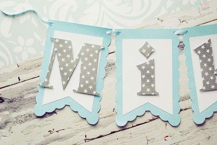 Birthday banner #birthday #party #banner #kids #baby #handmade #cricut #cricutexplore #craft #papercraft