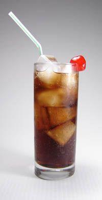 Bartenders-root-beer: 1 oz Kahlua, 1/2 oz Galliano, 3 oz cola, 2 oz soda water