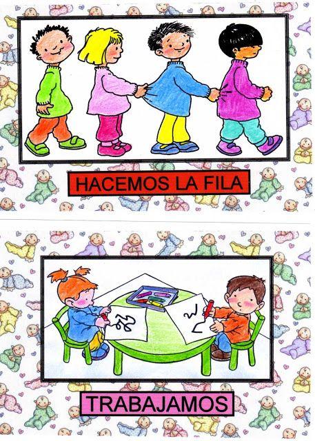 Mi Mundo Infantil: HÁBITOS EN EDUCACION INFANTIL