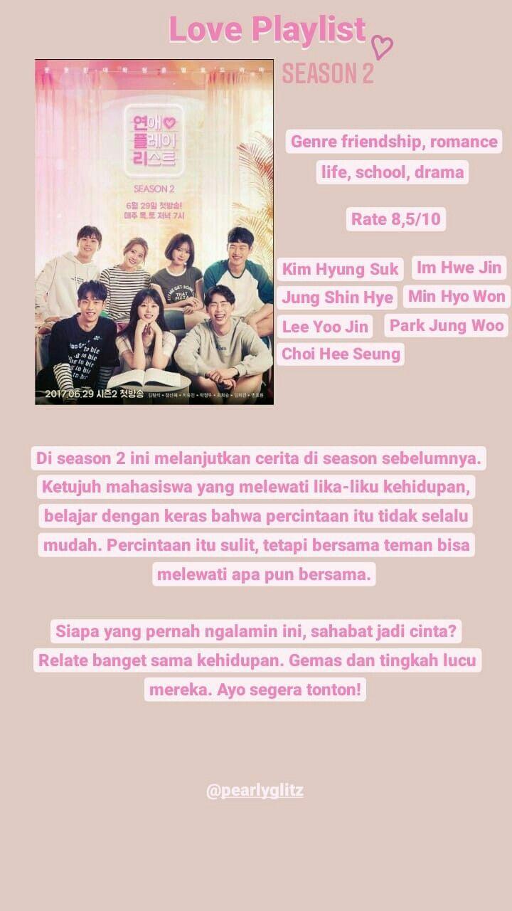 Rekomendasi Web Drama Korea : rekomendasi, drama, korea, Rekomendasi, Drama, Korea, #webdrama, #loveplaylist, #season2, Drama,, Kutipan