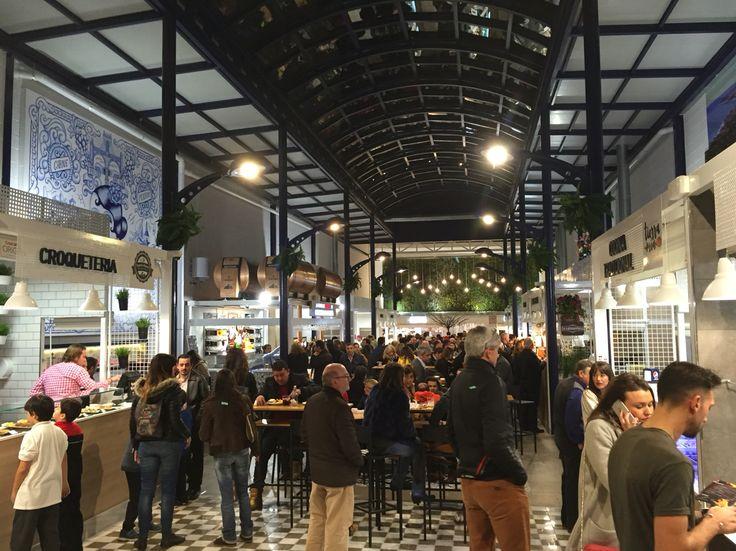 Nieuwe gastromarkt in Fuengirola: gastromercado La Galeria tegenover het postkantoor in het centrum.
