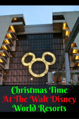 If you are planning on experiencing Christmas time at the Walt Disney World Resorts, there are some decorations you don't need to miss! There are a few resorts that really go all out to celebrate the holidays. Most of the resort decorations will be up by mid- November.