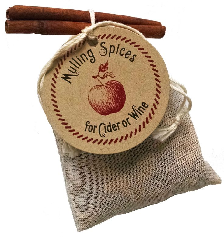 Mulling Spices Sachet - Gift, fall or winter wedding favor