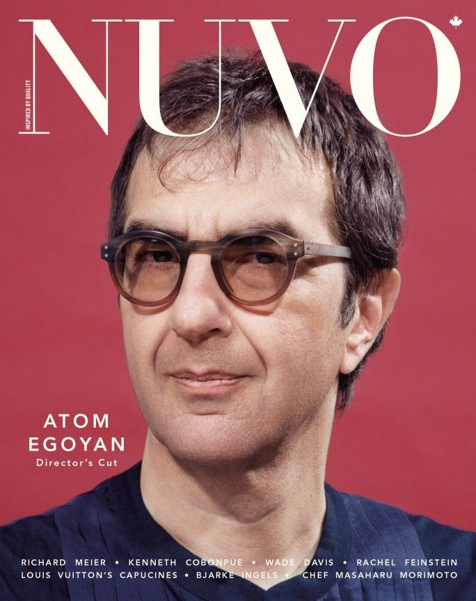 NUVO Magazine Summer 2014 Cover featuring Atom Egoyan