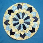 Dresden Plate Candle Mat :Kays Quilt Patterns