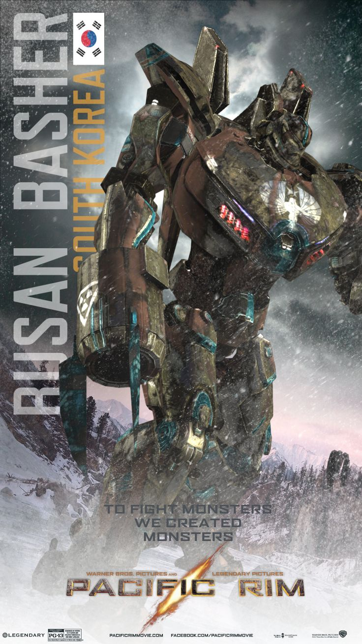Pacific Rim Jaeger Busan Basher