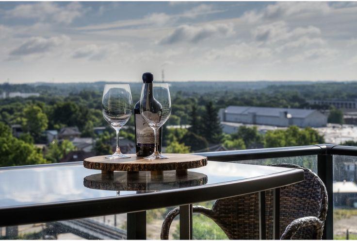 Terrace River View. Guelph, Ontario. Luxury Condominium Project.