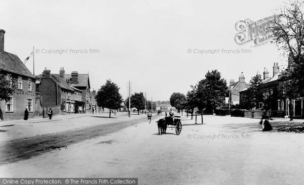 Stevenage, High Street 1903, from Francis Frith