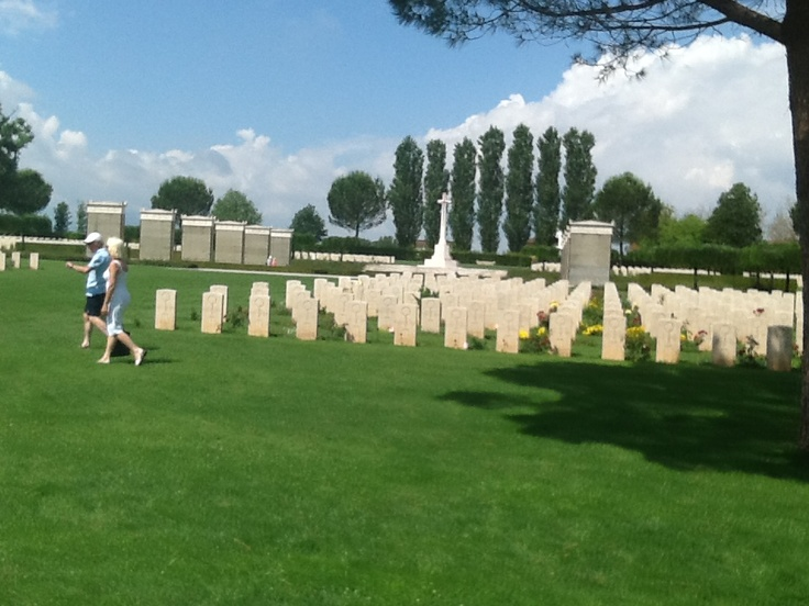Monte Casino in Italy Commonwealth War Graves