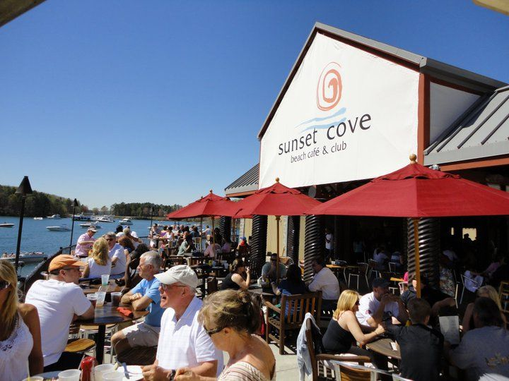 Pin By Discover Lake Lanier On Front Sea Food Pinterest Beach Cafe Places And Restaurant