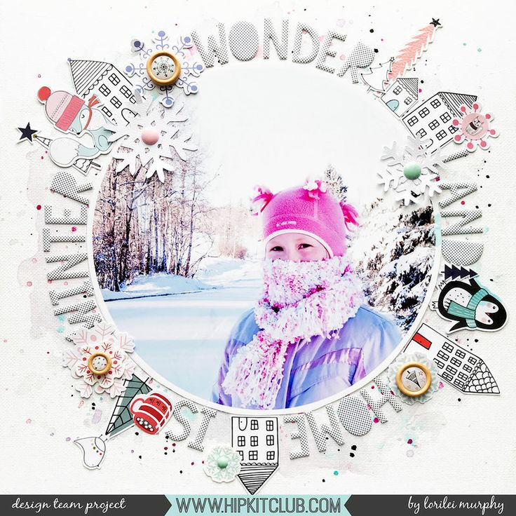 Winter Wonderland TF – good for a page in a big city – skyline around the photo