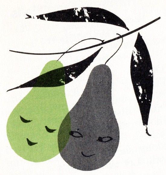 Charley Harper cookbook illustrated in 1958