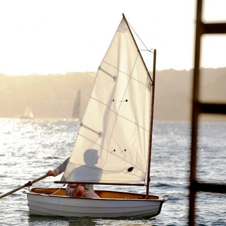The BBCo Sailboat Kit - hardtofind. The BBCo Sailboat Kit is the perfect DIY project for any aspiring legend. Because anyone, anywhere can build a boat. All you need to do is follow the step-by-step instructions.
