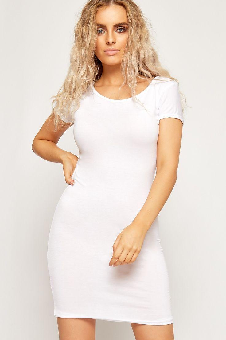 Myrtie Jersey Bodycon Mini Dress | WearAll